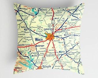 Texas Pillow Cover TX Throw Pillow Texas Gifts Austin Dallas Houston Pillow Fixer Upper Pillow Custom Texas Pillow Fixer Upper Vintage Texas