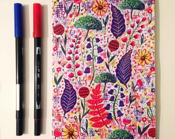 A5 Notebook 'Wild Meadow'