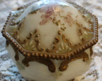 Elegant Antique Ladies Box