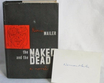 The Naked and the Dead by Norman Mailer, with autograph