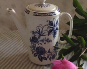 Barker Brothers Made in England Ironstone Coffee Pot