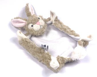 Bunny Rabbit Security Blanket Lovey PDF Sewing Pattern