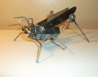Grasshopper Metal Sculpture