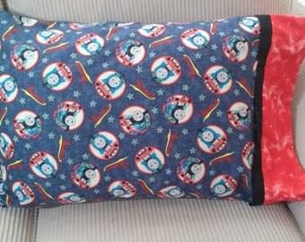 Pillowcase/Thomas the train/childs pillow case/Birthday gift
