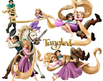 Best collection of 92 RAPUNZEL from Tangled images - 92 high quality Tangled CLIPART - 92 Rapunzel Graphics !!!