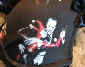 Joker and Harley Quinn inspired bra