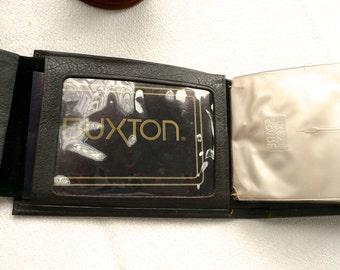 Vintage Wallet - Men's Leather Wallet - Pant Pocket Wallet - Brown Wallet - Multipocket Leather Lined - Clear ID Pockets- Tooled Billfold