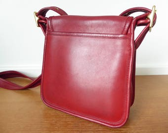 Red Coach Studio Leagacy Flap Bag, number H9Z-9145