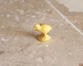 Mini animal - miniature plastic chick - tiny plastic chick - tiny chicken - miniature farm animal - tiny farm animal