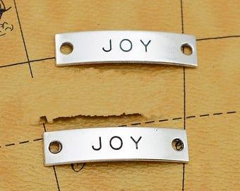 20pcs 42mmx10mm Joy Connector Charms Antique Silver Tone - SC2870