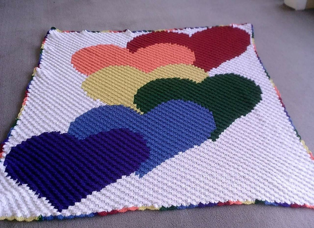 C2c graph rainbow hearts c2c pattern with written wordcolor chart c2c graph rainbow hearts c2c pattern with written wordcolor chart instructions c2c graph pattern crochet afghan pattern c2c graph c2c bankloansurffo Choice Image