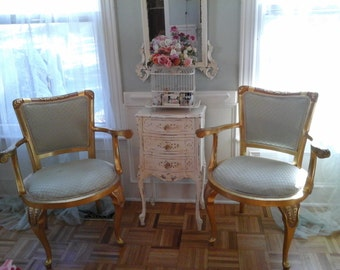 Paris chic,arm chairs and coffee table
