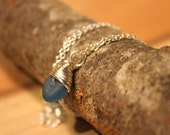 Little Seaham Seaglass Deep Blue Necklace