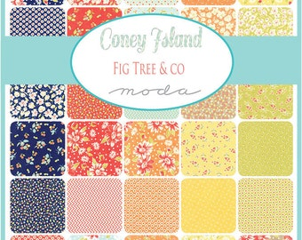 Coney Island Charm Packs by Fig Tree & Co. for Moda