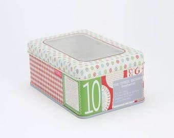 Full Set of Moda Frivols 1 through 12 Tins with the fabric inside - all NEW!