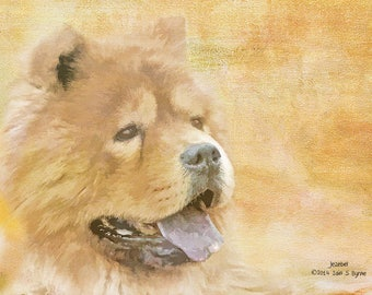dog art print, Chow Chow print, dog lover gift, dog picture, dog wall art, dog photography, animal print, animal art, home décor art