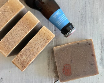 Oatmeal, Honey Stout- Organic Gourmet Soap LIMITED EDITION