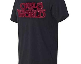 RoAcH Men's T-shirt | Girls Will Save The World Tee