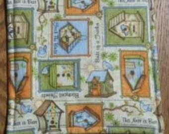 Pot Holder, Hot Pad, Fabric Pot Holder, Hanging Pot Holder, Decorative Pot Holder, Kitchen Pot Holder, Birdhouses
