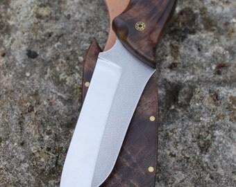 Handmade EDC knife, Wharncliffe, Gentlemans knife