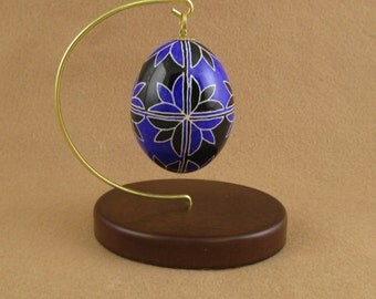 Pysanky Pisanki Ukrainian Polish Easter Egg Tulip Opposite Hand Decorated Chicken Egg