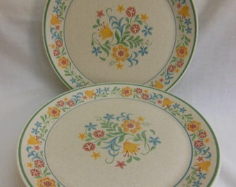 5 Vintage Temper-ware by Lenox Quakertown Dinner Plate oven safe plate w/flowers Set of 5 Made in USA offers considered