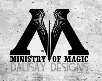 Ministry of Magic Vinyl Decal