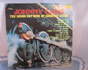 Vintage vinyl Johnny Cash / Johnny Cash Vinyl Vintage
