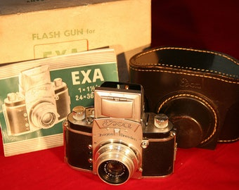 Exa Camera and Rare Lens Beautiful