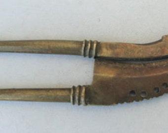 Old Brass Betel Nut Cutter - Sarota