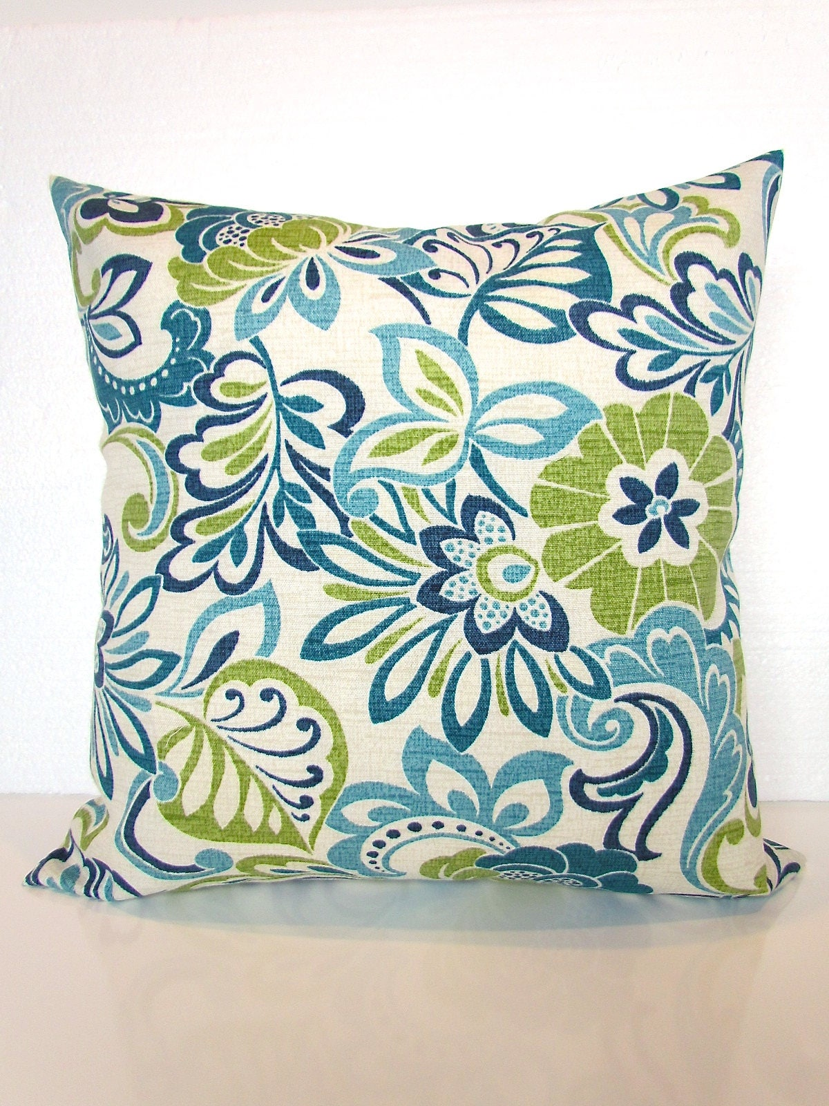 Lime Green And Blue Throw Pillows : Blue Outdoor Lime green Outdoor Throw Pillow Covers Lime Teal