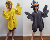 Choco bird Kigurumi -- Handmade onesie -- Multiple colors!