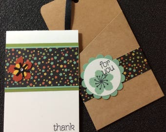 Thank you, Friendship, Handmade, stampin up