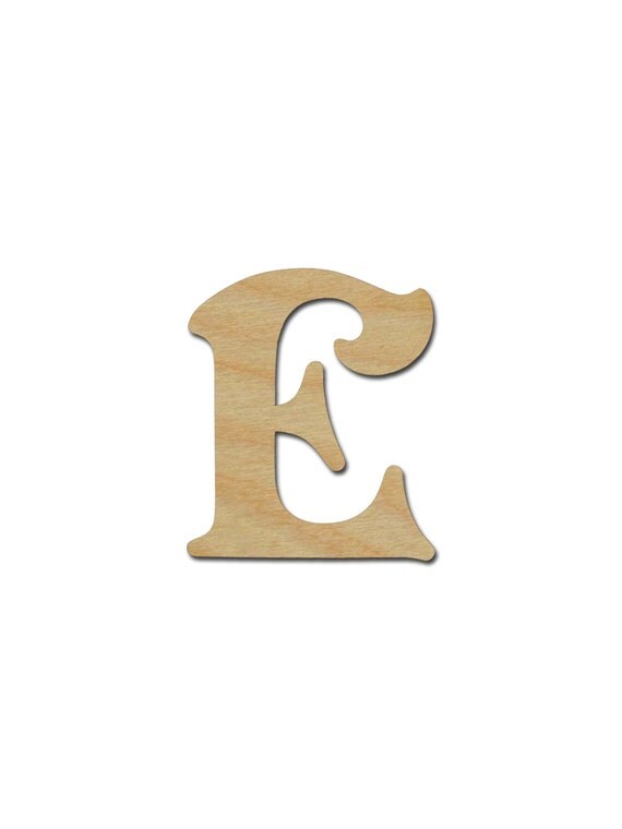 unfinished wood letters letter e unfinished wooden letters 6 quot inch from 25367