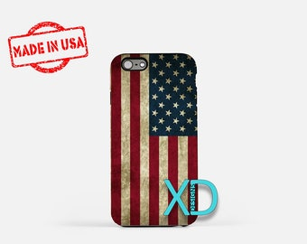 Flag iPhone Case, Patriotic iPhone Case, Flag iPhone 8 Case, iPhone 6s Case, iPhone 7 Case, Phone Case, iPhone X Case, SE Case Protective