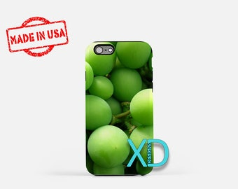 Grape iPhone Case, Green Grapes iPhone Case, Grape iPhone 8 Case, iPhone 6s Case, iPhone 7 Case, Phone Case, iPhone X Case, SE Case New