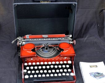Refurbished 1930 Royal Model P Portable  Typewriter w/ Warranty