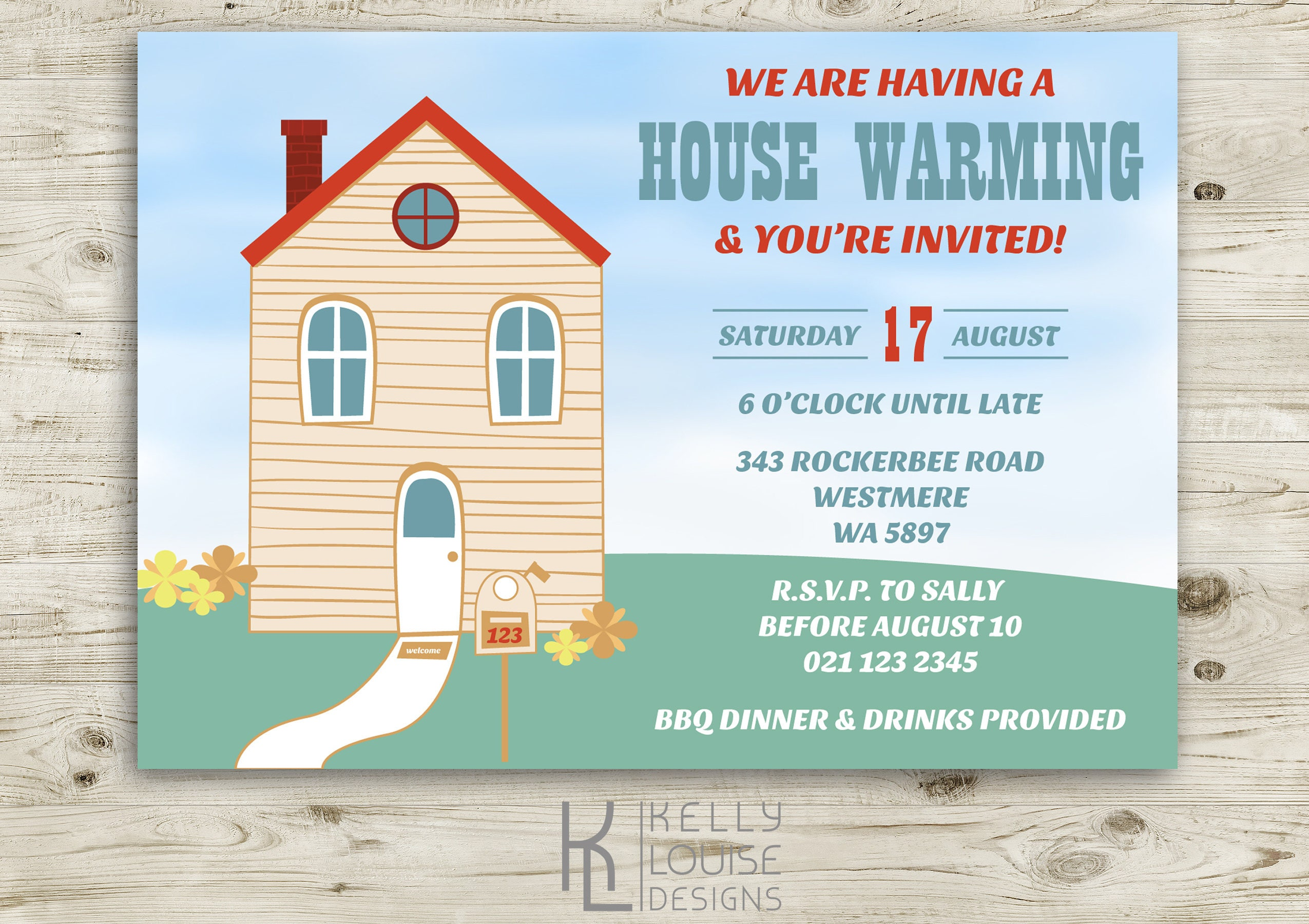 House Warming Invitation | House Warming Party | New House Party ...