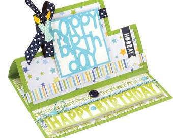 Sizzix - Framelits Die Set - 28 Pack - Card - Square Stand-Ups by Stephanie Barnard