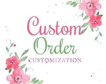 Add On - Customization