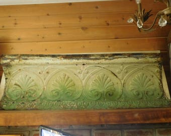 Vintage Tin Ceiling Tile Crown