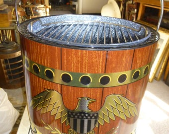 American Eagle Portable Grill - Mint Condition New in Box - Stylish and Functional Patriotic Grill for Memorial and Labor Day - 4th of July
