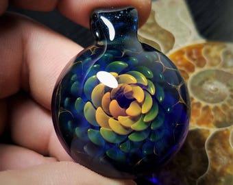 Blown Glass Pendant