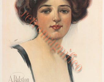 Five Victorian Women images vintage digital download images, 1880's to 1890's