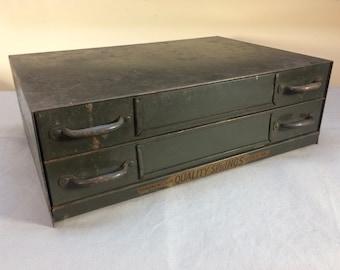 Industrial Metal Storage Cabinet Vintage 1940's