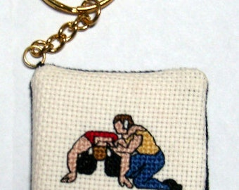 Cross Stitch Chart for wrestling