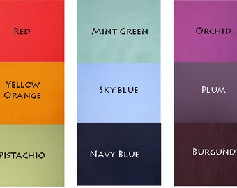 Matte Lycra Fabric Available in 9 Colors