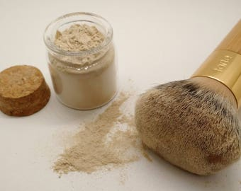 NO MICA Foundation! Plant Based COMPLETELY Organic Powder