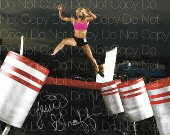 Jessie Graff signed American Ninja Warrior sexy hot 8X10 photo picture signed autograph RP