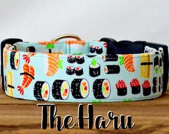 "Whimsical Sushi Inspired Dog Collar ""The Haru"""